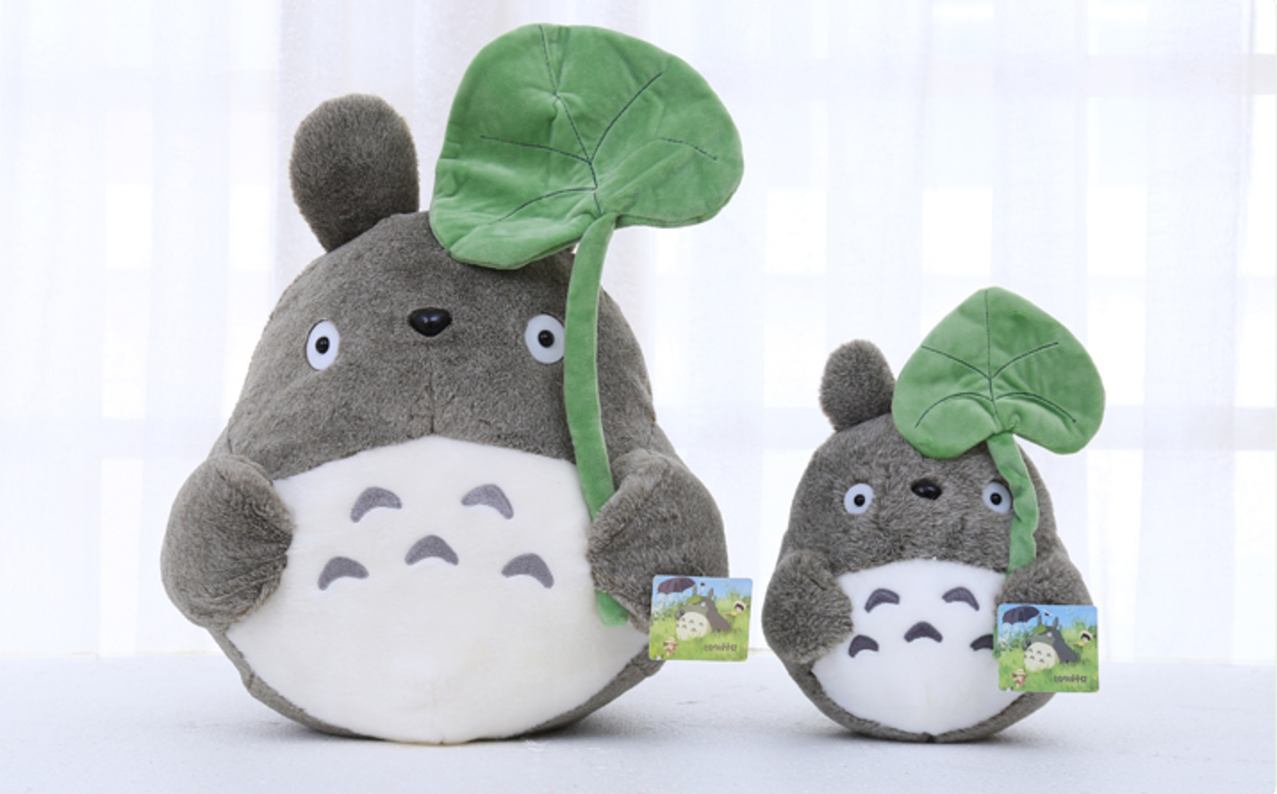 The admiring plush with different printed cartoon images in it